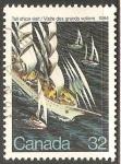 Sellos de America - Canadá -  Tall Ships Visit