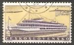 Sellos de Europa - Checoslovaquia -  Barco