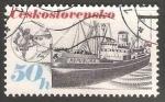 Sellos de Europa - Checoslovaquia -  Shipping Industry