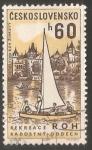 Sellos del Mundo : Europa : Checoslovaquia :  Velero