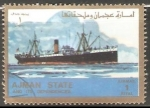 Stamps United Arab Emirates -  Barco