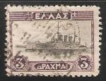 Sellos de Europa - Grecia -  Barco