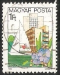 Stamps Hungary -  Velero en Zanka