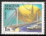 Stamps Hungary -  Barco en Novi Sad