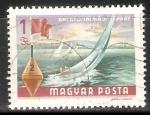Sellos de Europa - Hungría -  Velero