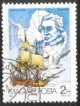 Stamps Hungary -  James Cook