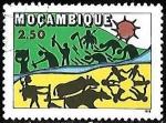 Sellos del Mundo : Africa : Mozambique : Mozambique-cambio