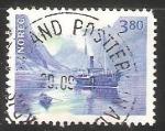 Sellos de Europa - Noruega -  Barco