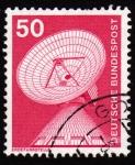 Stamps Germany -  INT-ERDEFUNKSTELLS