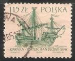 Stamps Poland -  Karaka Statek Handlowy XVW