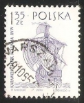 Stamps Poland -  Karawela Statek Kolumba XVW