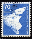 Stamps Germany -  COL-SCHIFFBAU