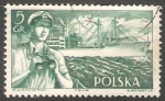 Stamps Poland -  Barco