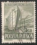 Sellos de Europa - Polonia -  La reconstrucción de los astilleros de Gdansk