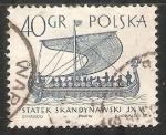 Stamps Poland -  Navios mercantes fenícios