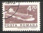 Stamps Romania -  Petrolierul