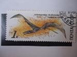 Stamps Russia -  CCCP - Fauna Prehistórica - 1990 de 1k.