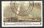 Sellos del Mundo : Africa : Sudáfrica : Willem Van de Velde 1633-1707