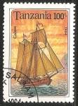 Sellos de Africa - Tanzania -  Galeas