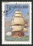 Sellos de Africa - Tanzania -  Frigate