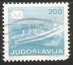 Sellos del Mundo : Europa : Yugoslavia : Barco