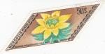 Sellos de Asia - Mongolia -  flores
