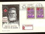 Sellos de Europa - España -  1er. Centenario de la Cruz Roja  SPD