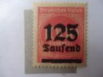 Stamps Germany -  Cifras - (Scott/Al;255)