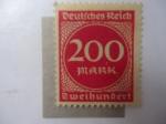 Sellos de Europa - Alemania -  Cifras - (S/scott/Al:291)