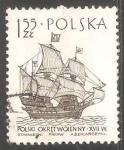 Stamps Poland -  Polski Okret wojenny