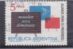 Sellos de America - Argentina -  alianza para el progreso