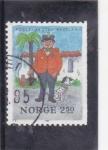 Sellos de Europa - Noruega -  politimester bastian