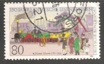 Stamps Germany -   150 years German railways