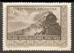 Sellos de America - Argentina -  Plan Quinquenal 1947-1951