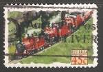 Sellos de Oceania - Australia -  Tren