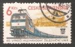 Sellos de Europa - Checoslovaquia -  Tren