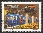 Stamps Hungary -  150 Years of Public Transport in Budapest