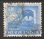Sellos del Mundo : Asia : India : Electric locomotive