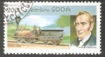 Sellos del Mundo : Asia : Laos : George Stephenson
