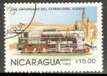 Sellos de America - Nicaragua -  150 Aniversario del Ferrocarril Aleman