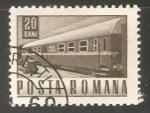 Sellos de Africa - Rwanda -  Tren