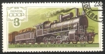 Stamps Russia -  History of Russian Locomotives