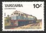 Sellos del Mundo : Africa : Tanzania : Locomotives