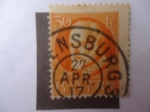 Stamps Germany -  Bayern - 30 Pf. 1916/20- Louis III