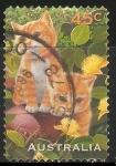 Sellos de Oceania - Australia -  Gatos