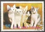 Sellos de Africa - Guinea Ecuatorial -  Gatos europeos