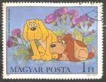 Sellos de Europa - Hungría -  Dogs