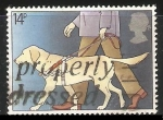 Stamps United Kingdom -  Perro