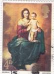 Stamps United Kingdom -  retrato