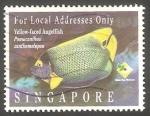 Stamps Singapore -  753 - Fauna marina